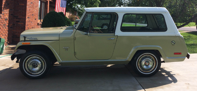 Jeepster commando full size wheel covers 72 and 73 model (Sold ...