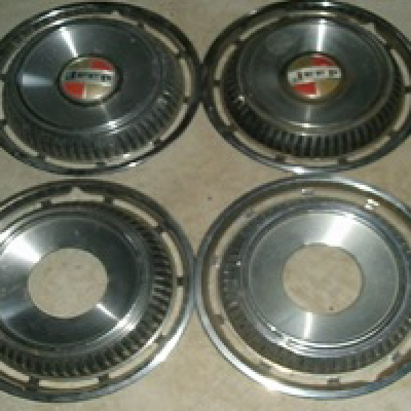 Jeepster commando full size wheel covers
