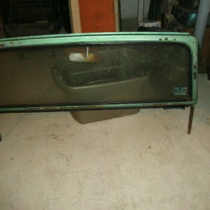 Jeepster commando windshield frame
