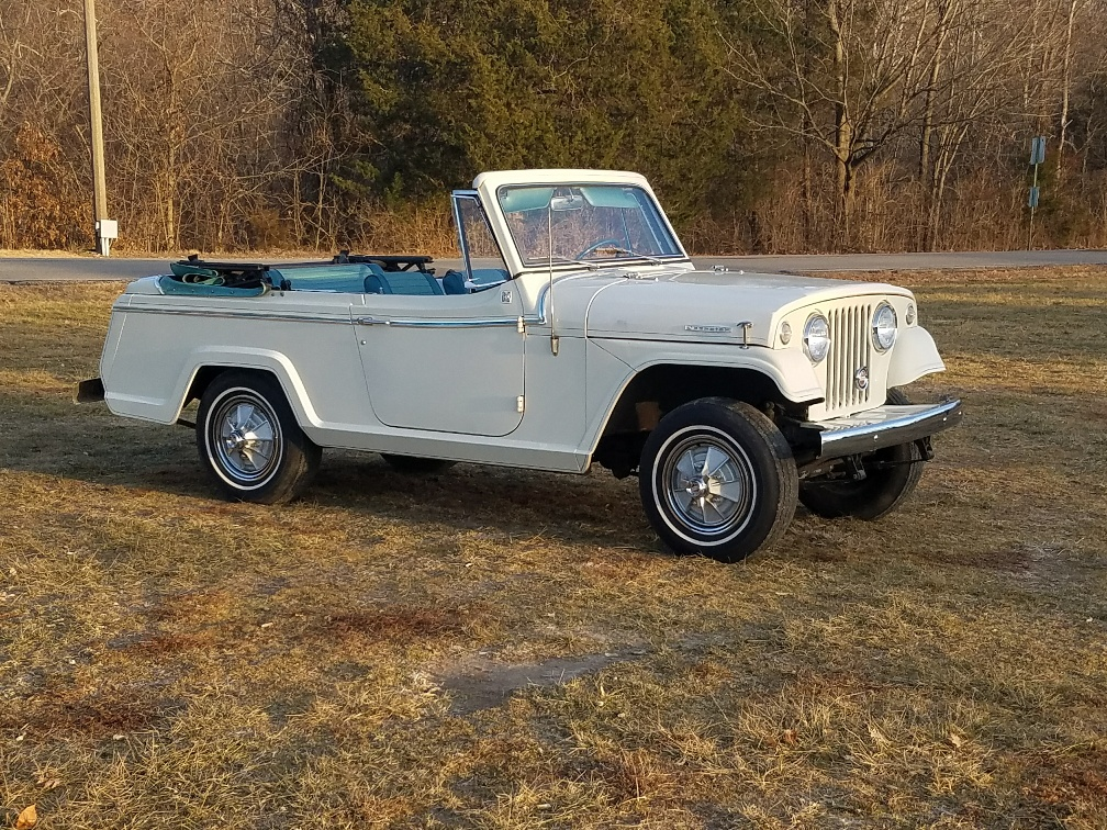 1967 Jeepster Deluxe Model Convertible – Just Jeepsters