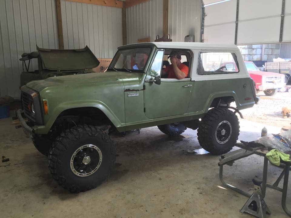 Jeepster Commando 4″ Lift Kit for 1971-73 (KT4-171-73) – Just Jeepsters