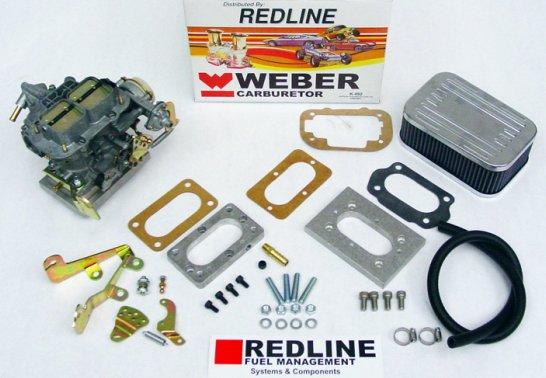 Redline Weber Carburetor Conversion Kit for the 225 V6