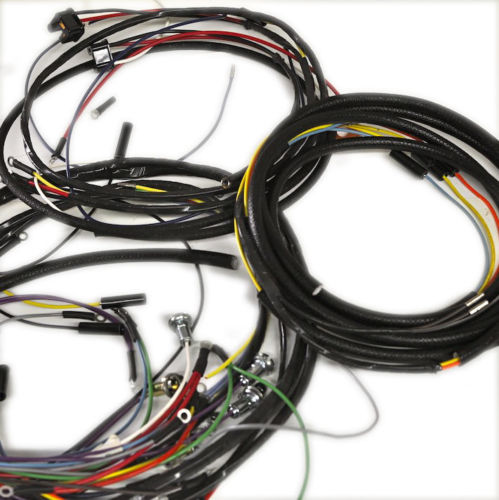 Jeepster Commando Wiring Harness For Manual  U2013 Just Jeepsters